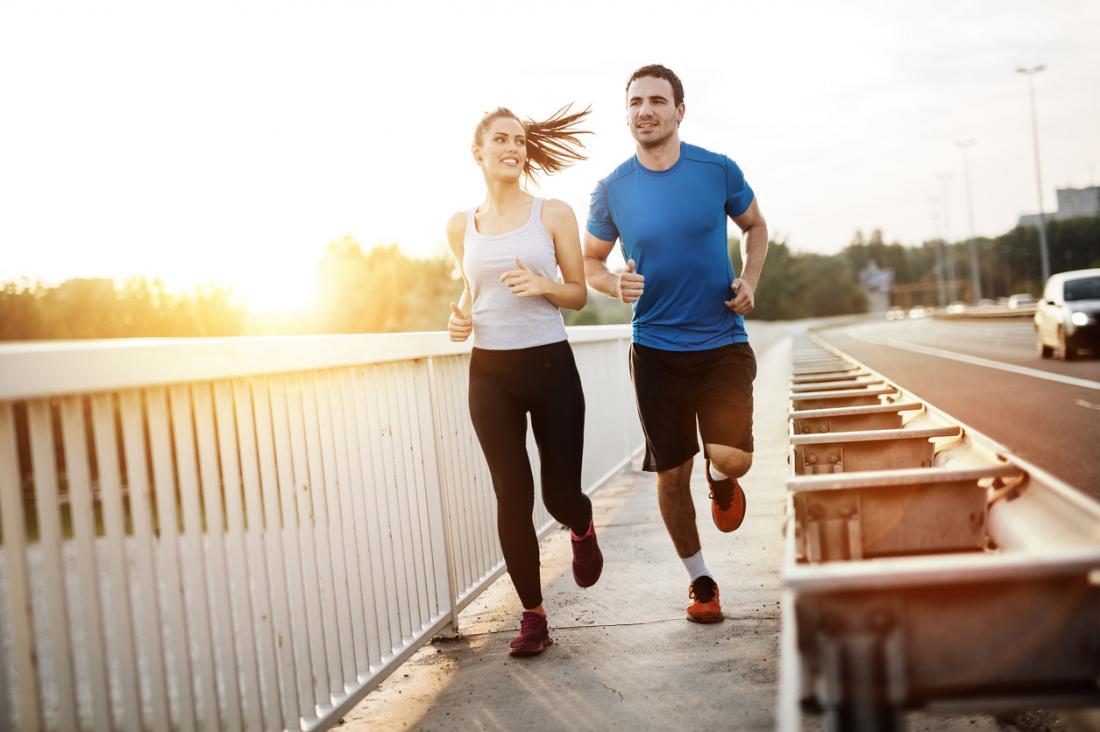 pareja para correr