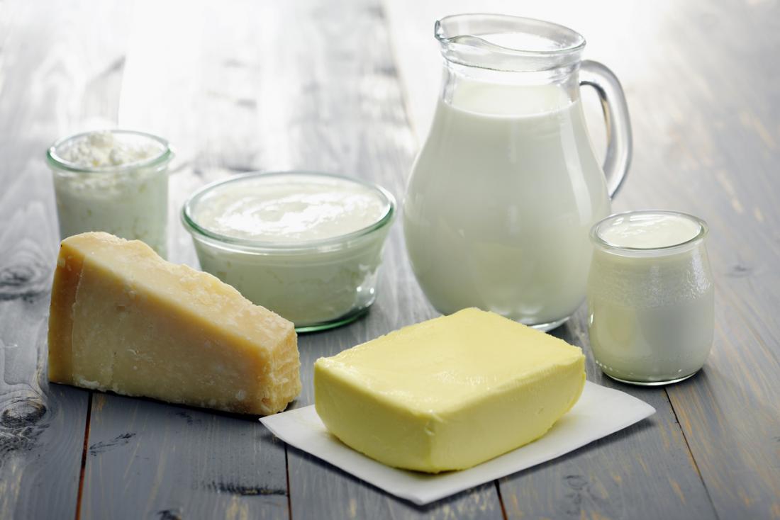 Laktoseintoleranz kann eine Ursache für Unterleibsschmerzen im linken Unterbauch sein.