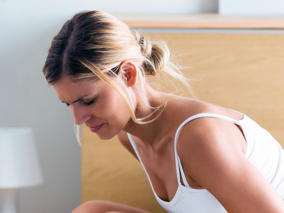a woman experiencing Perineum pain