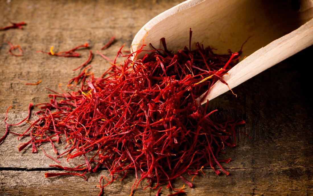 saffron which provides health benefits