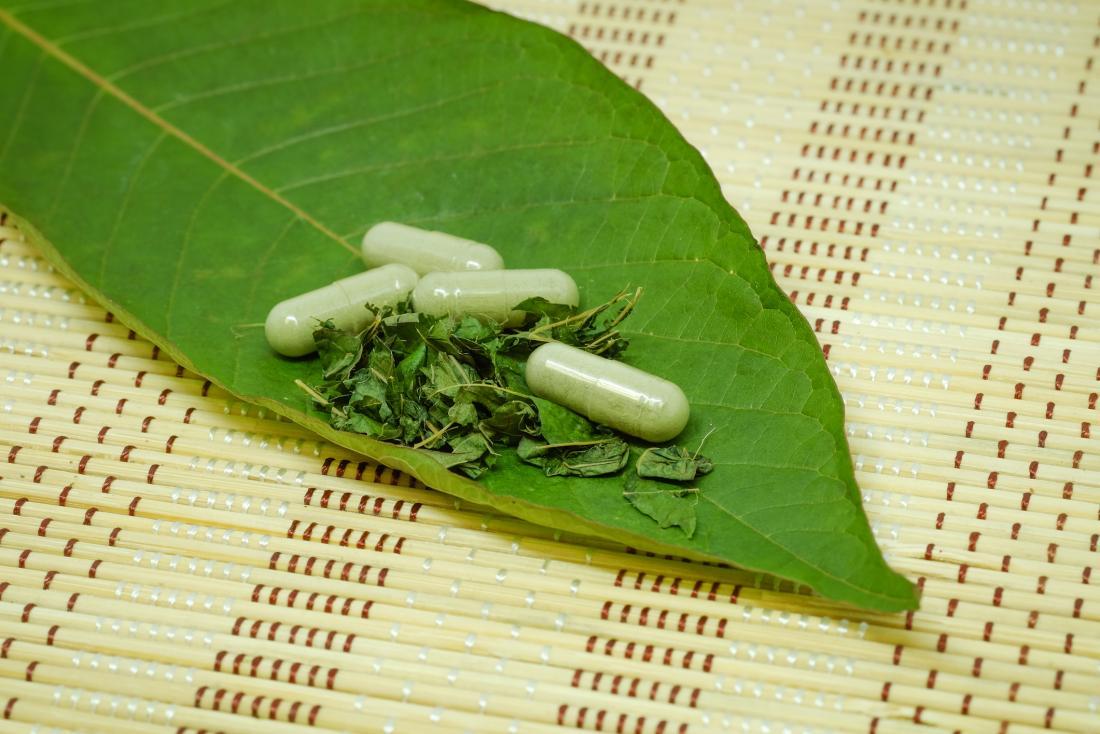 kratom leaf and kratom supplements