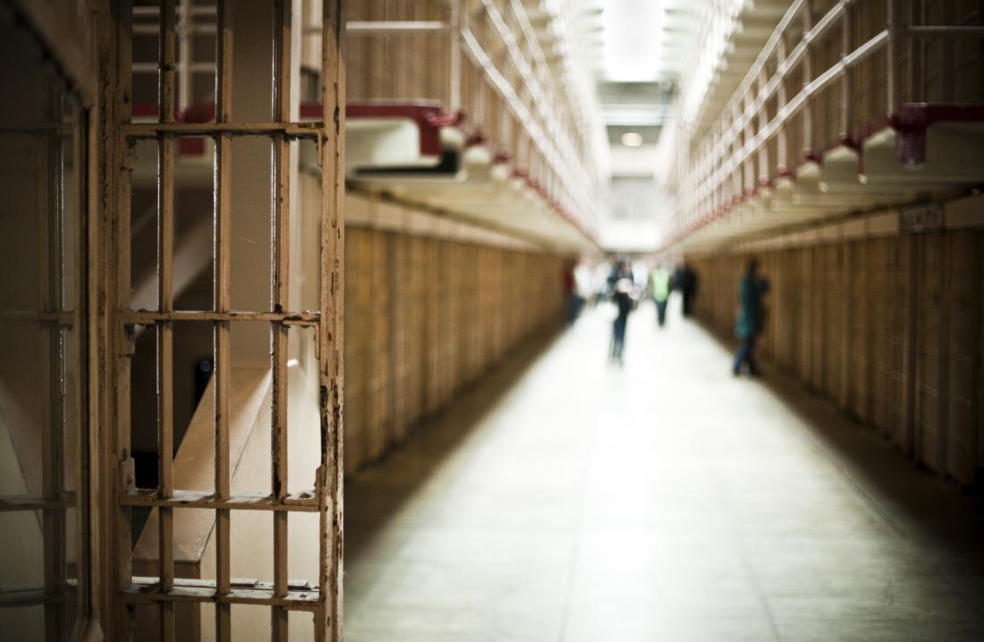 image of prison corridor