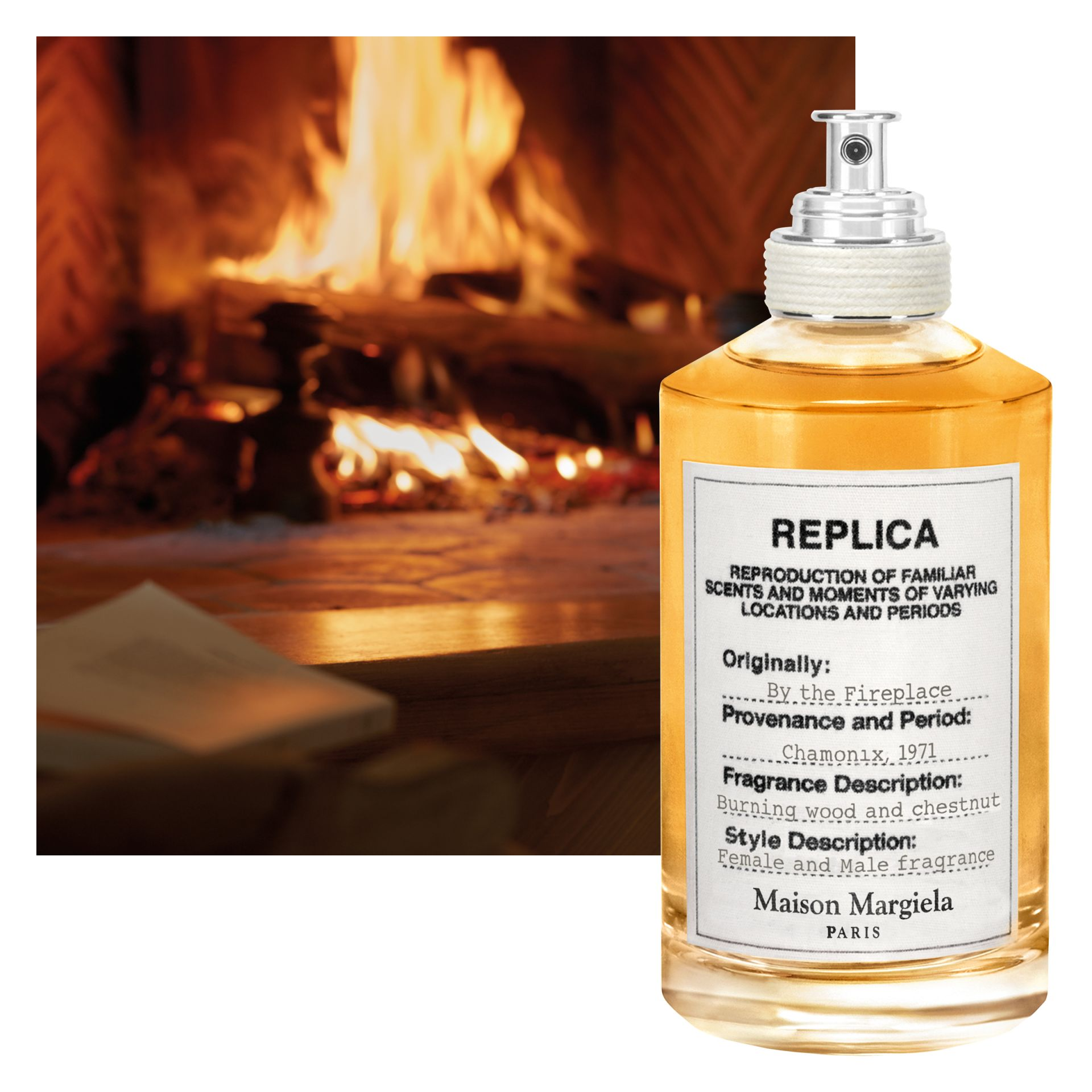 Fireplace Fragrance Oil Replica By The Fireplace