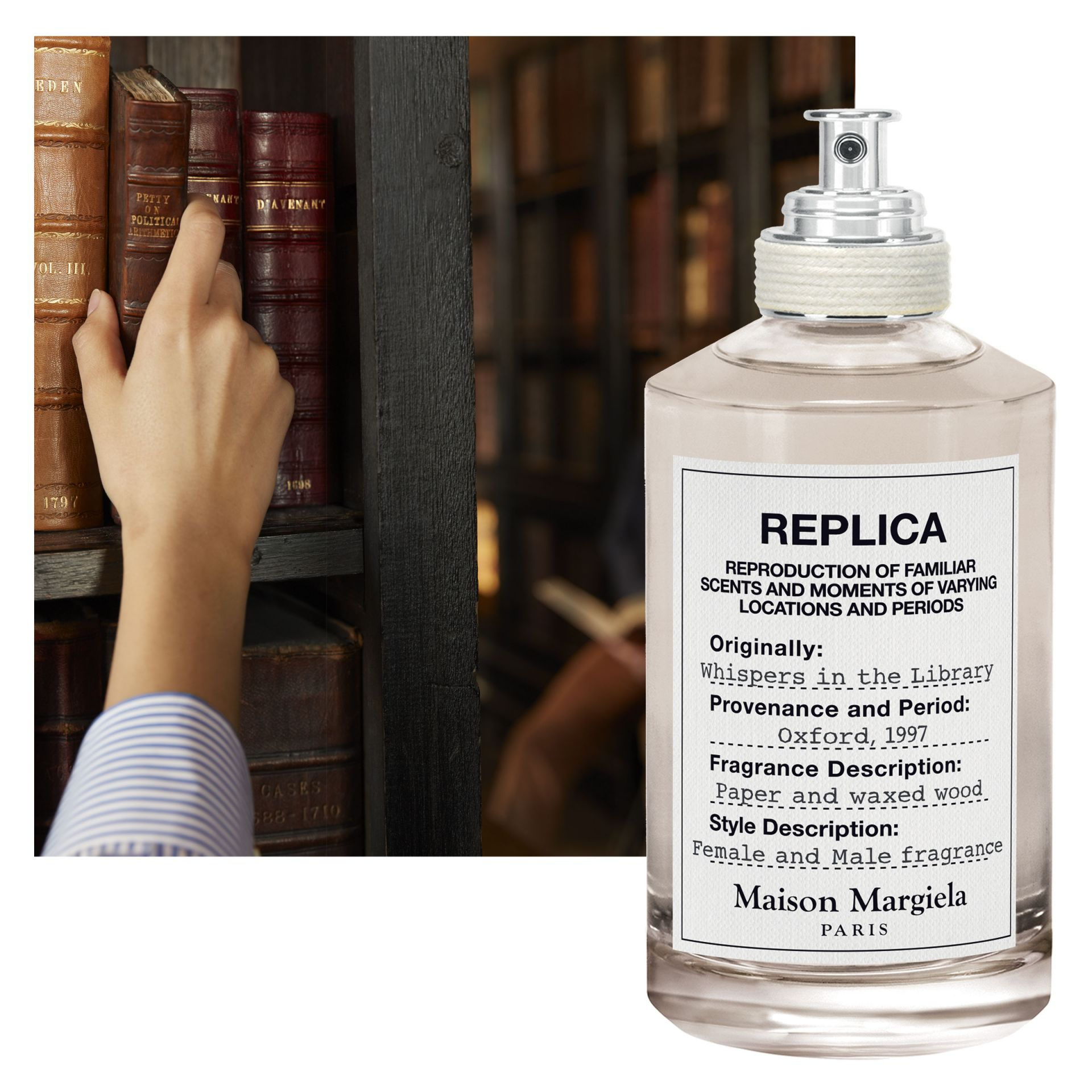 Replica ???? Replica Whispers In The Library