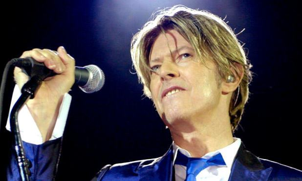 "The death of pop singer "" David Bowie"""