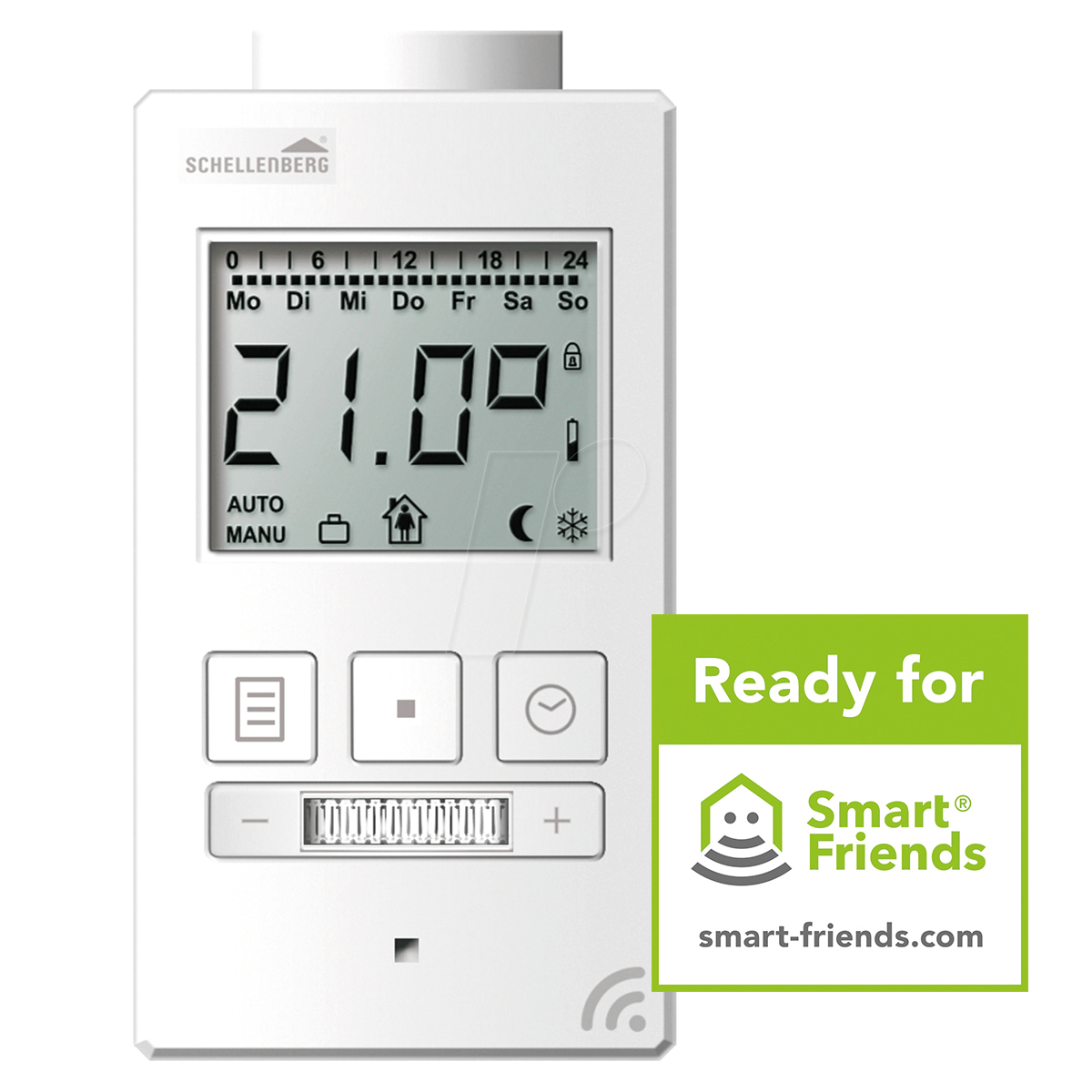 Homee Homematic As 10544: Thermostat Smart Home Bei Reichelt Elektronik