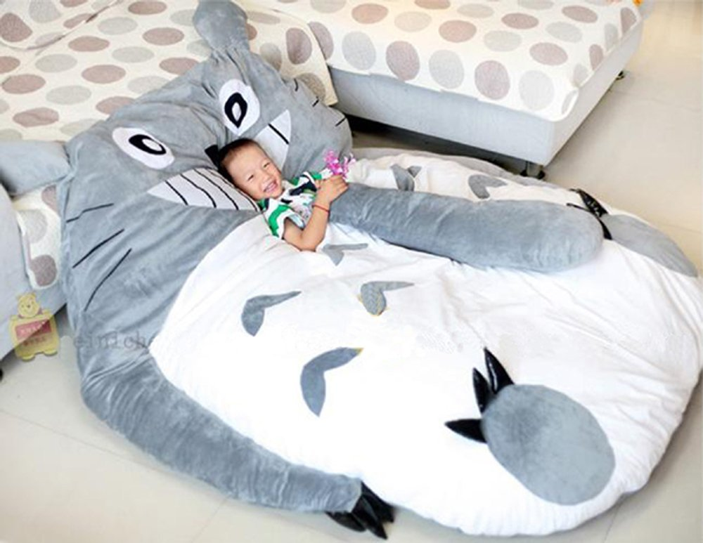 Totoro Bett My Neighbor Totoro Sleeping Bag Sofa Bed From Amazon
