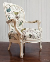 Antique Victorian Round Back Chair - from alexisandradesign