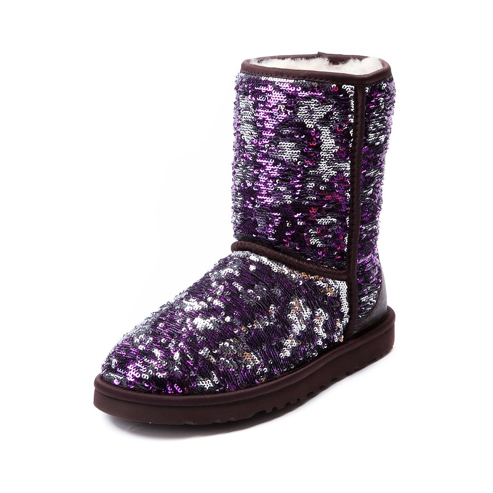 Womens Uggr Classic Short Sequin Boot From Journeys
