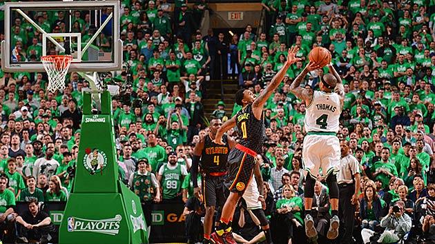 Atlanta Hawks Iphone 6 Wallpaper Boston Celtics Isaiah Thomas Defeat Atlanta Hawks In Game