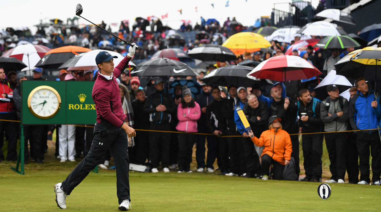 british open tee times friday