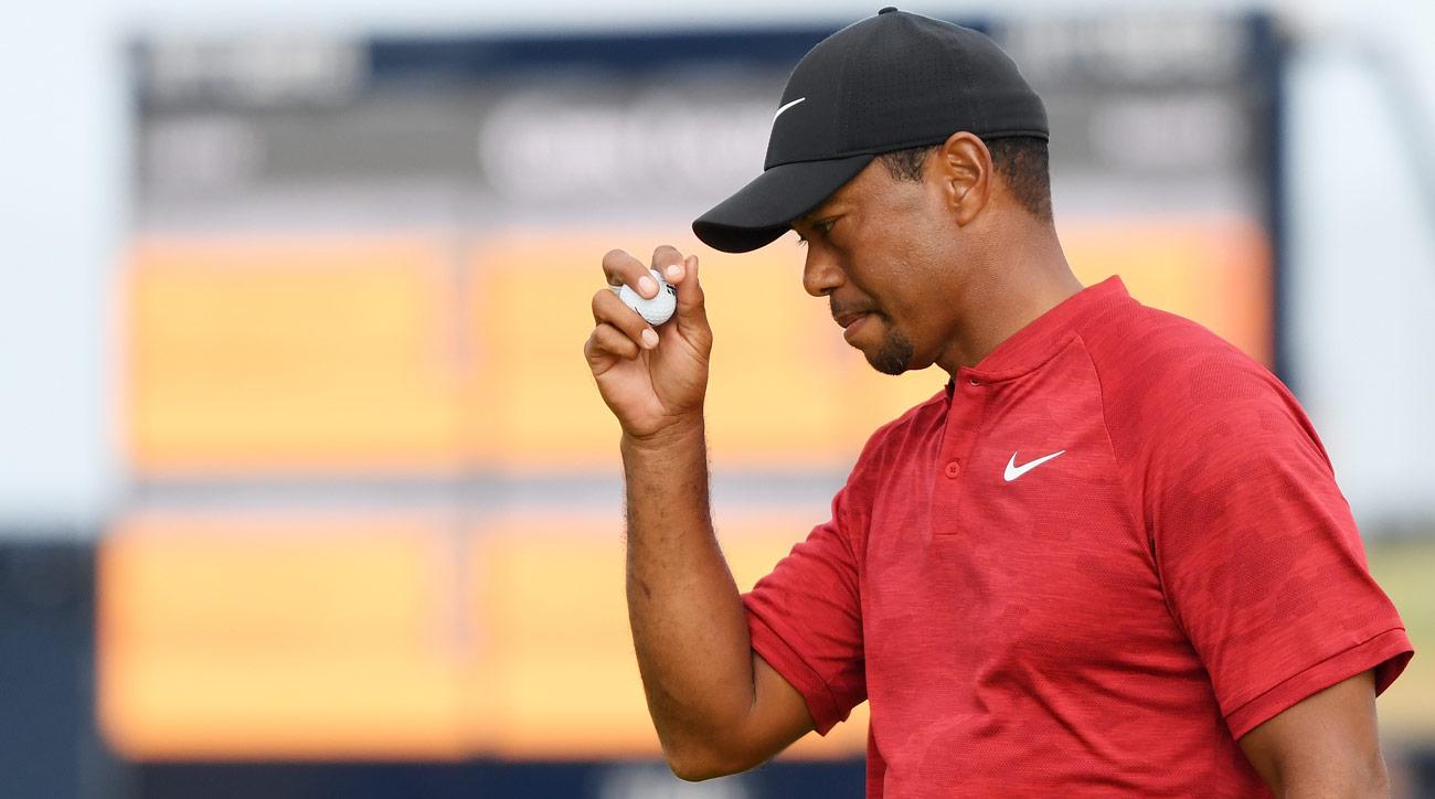 tiger woods british open 2018 updated scores