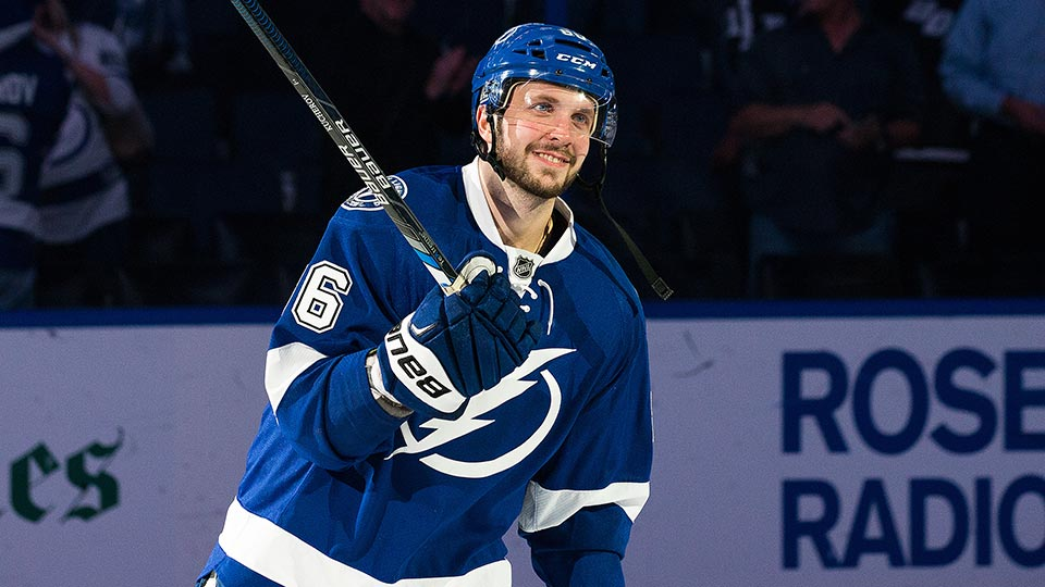 Kucherov Stats Tripolets' Nikita Kucherov Still Emerging For Tampa Bay