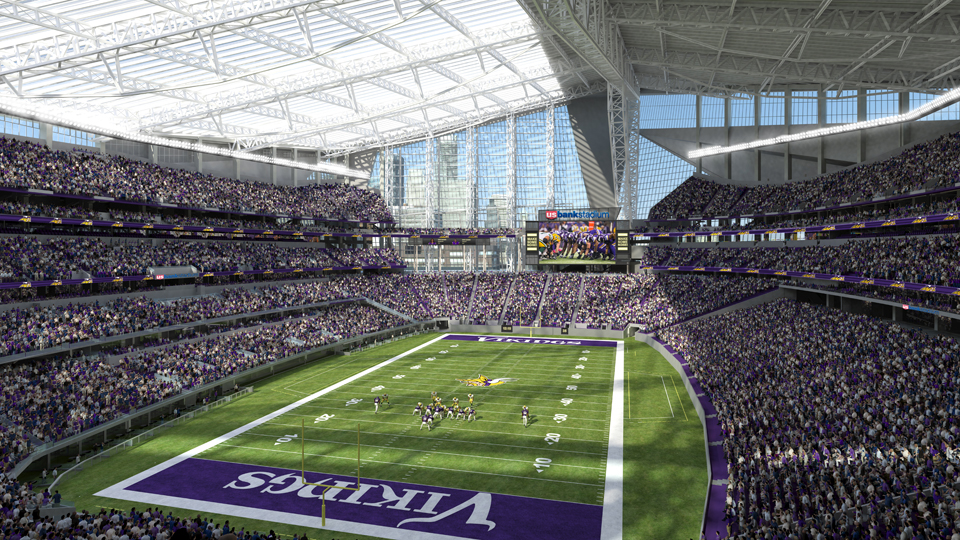 US Bank Stadium Vikings\u0027 new stadium boasts new features SI