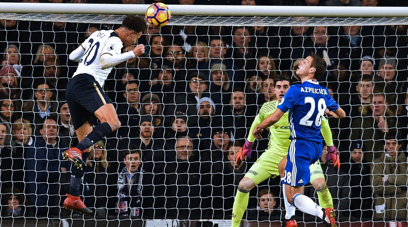 Tottenham Vs Chelsea Alli S Two Goals Snap Blues Streak Video Si
