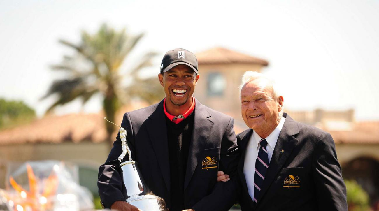 tiger woods tracker blog arnold palmer