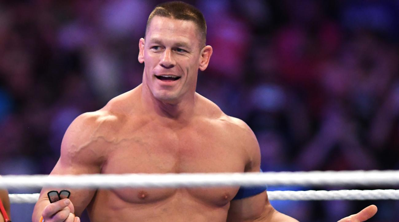 John Cena Deadlifts 602 Pounds On His 40th Birthday Video Si