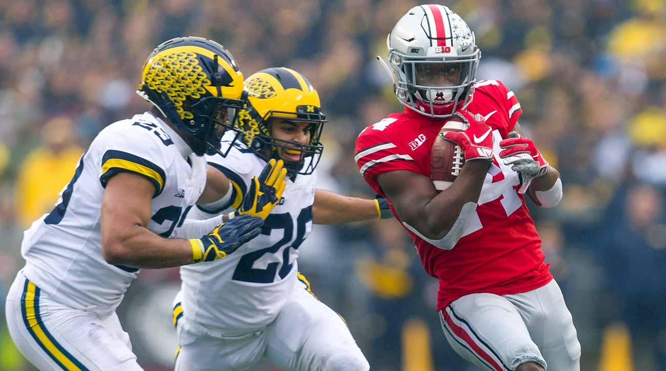Ohio State Score Ohio State Vs Michigan Buckeyes Own Wolverines In Rivalry Rout