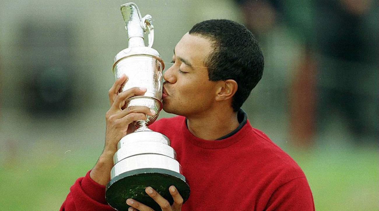 tiger woods tee time friday british open