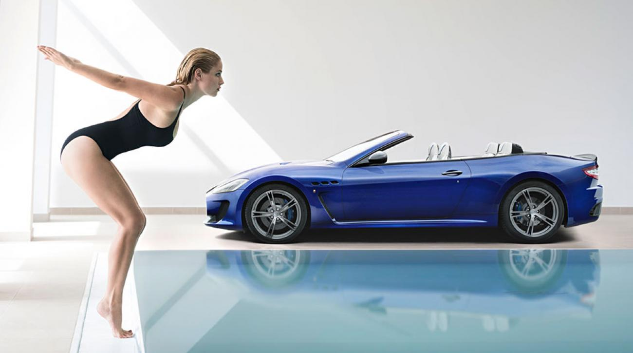 T Shirt Girl Hd Wallpaper Genevieve Morton Makes Maserati S Luxury Cars Even More