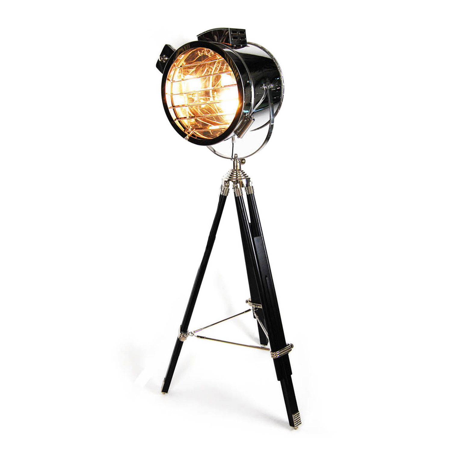 Floor Standing Tripod Lamp Hollywood Tripod Floor Lamp Hollywood Regency Touch Of