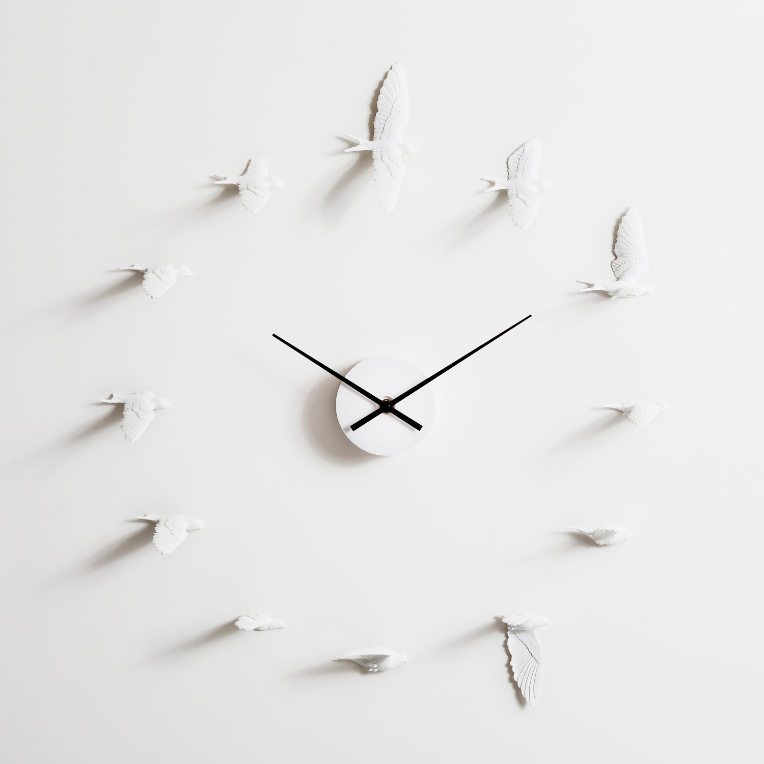 Haoshi Clocks Swallow Clock Haoshi Touch Of Modern