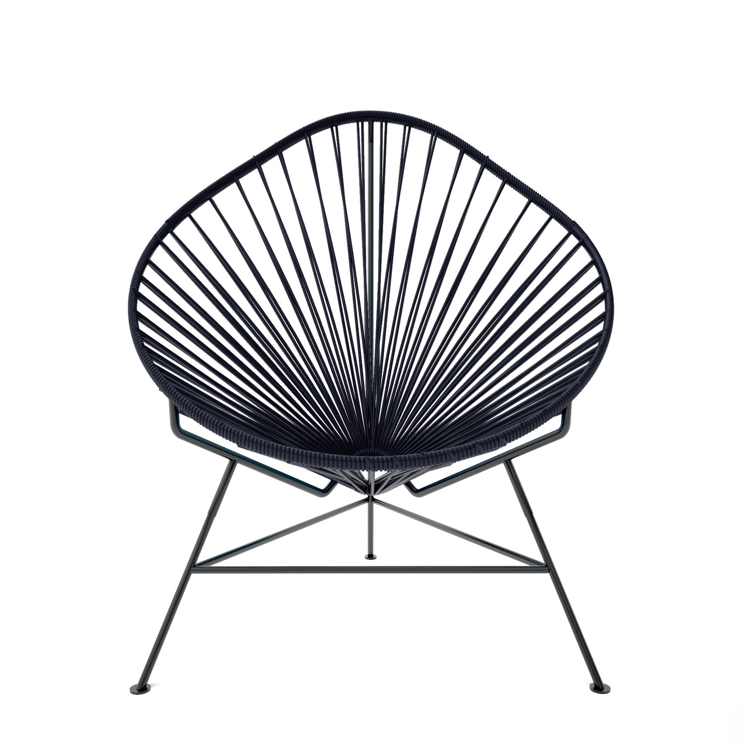Acapulco Chair For Sale Acapulco Chair Black Weave On Black Frame Innit