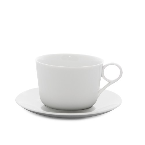 Medium Of Small White Coffee Cups