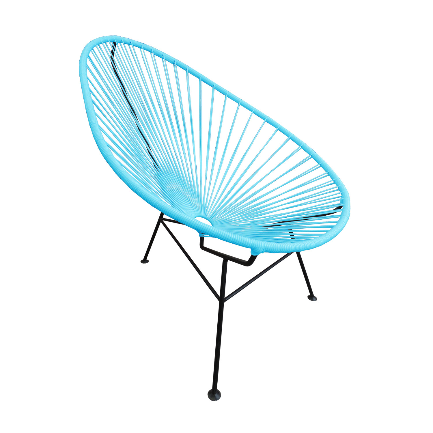 Acapulco Chair For Sale Acapulco Chair Sky Blue Akele Designs Touch Of Modern