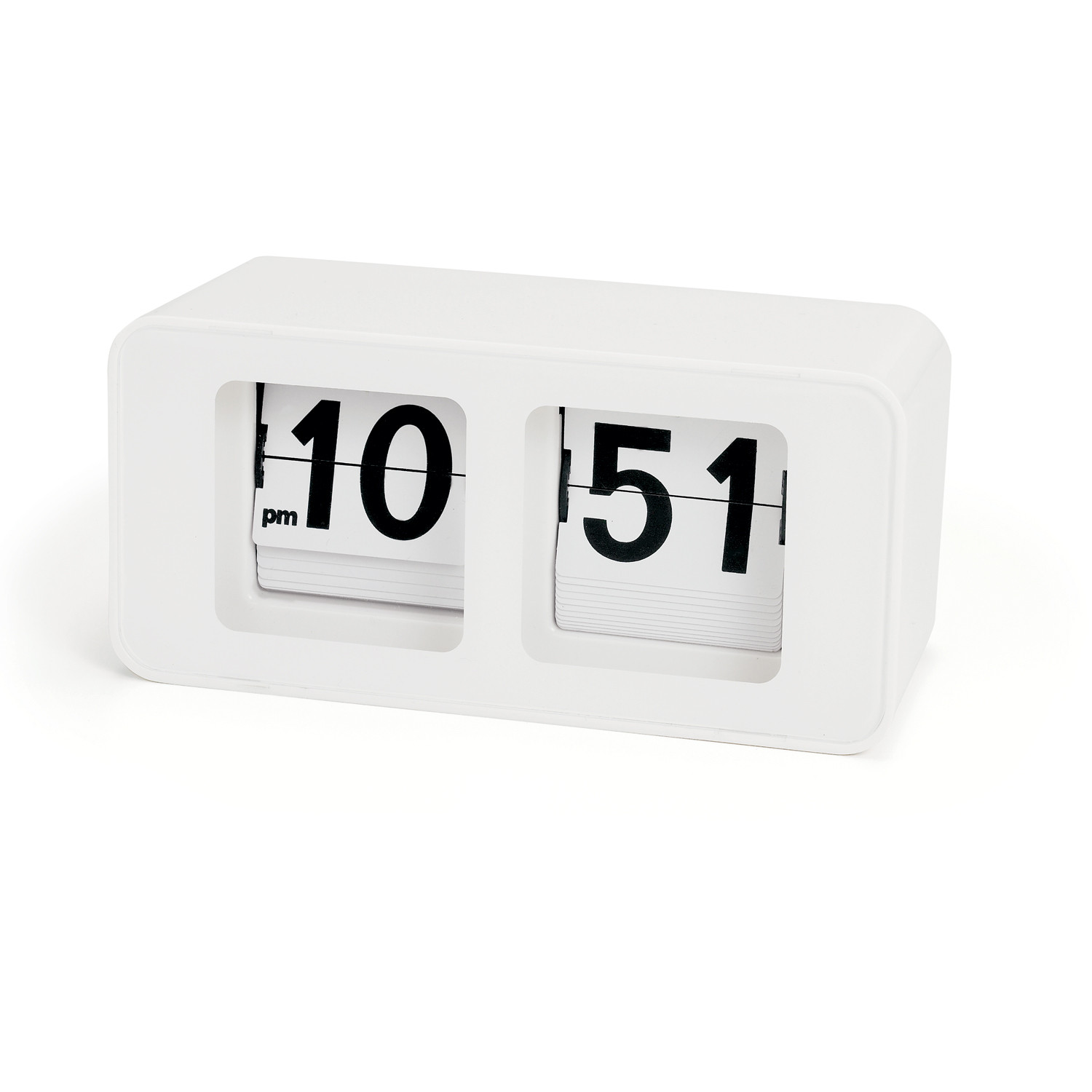 Big Flip Clock Retro Flip Clock Torre And Tagus Touch Of Modern