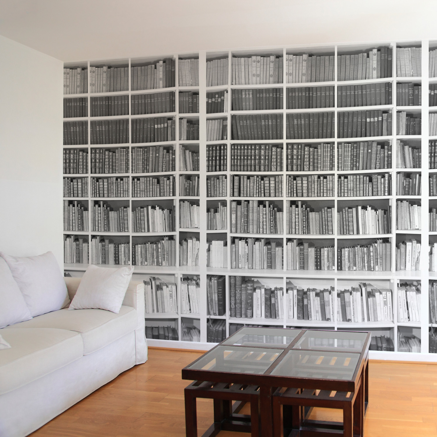 Bibliothèque Trompe L 39oeil Bibliotheque Black 43 White Ohmywall