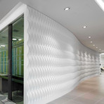 Paperforms 3d Wallpaper Tiles Paperforms Acoustic Weave Mio Culture Touch Of Modern