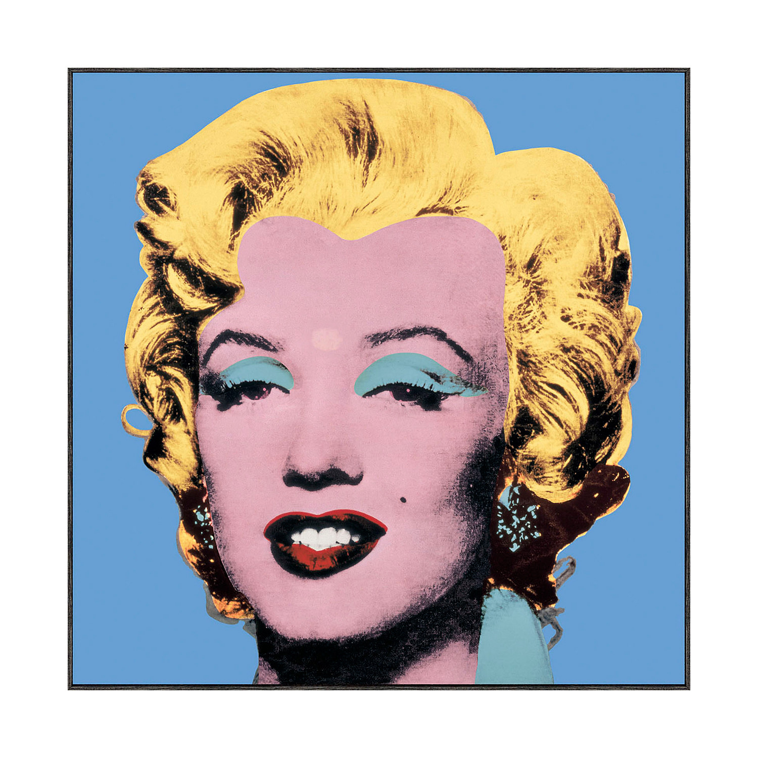 Marilyn Pop Art Andy Warhol Andy Warhol Shot Blue Marilyn 1964 Andy Warhol