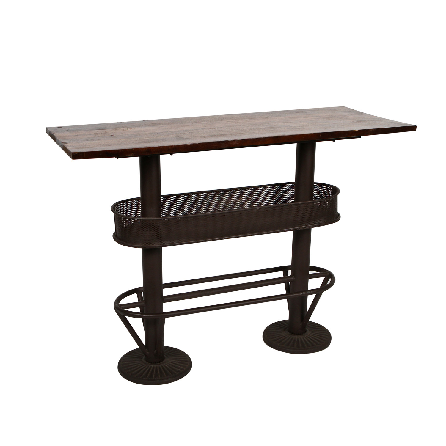 Table Bar Industriel Industrial Iii Bar Table Cdi Furniture Touch Of Modern