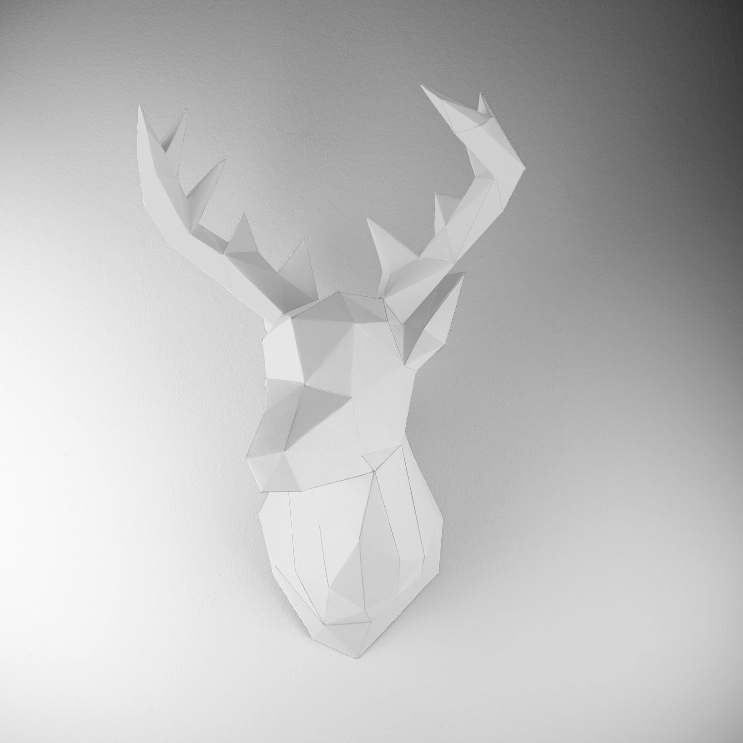 Paper Trophy Deer (black + Pink) - Papertrophy - Touch Of Modern