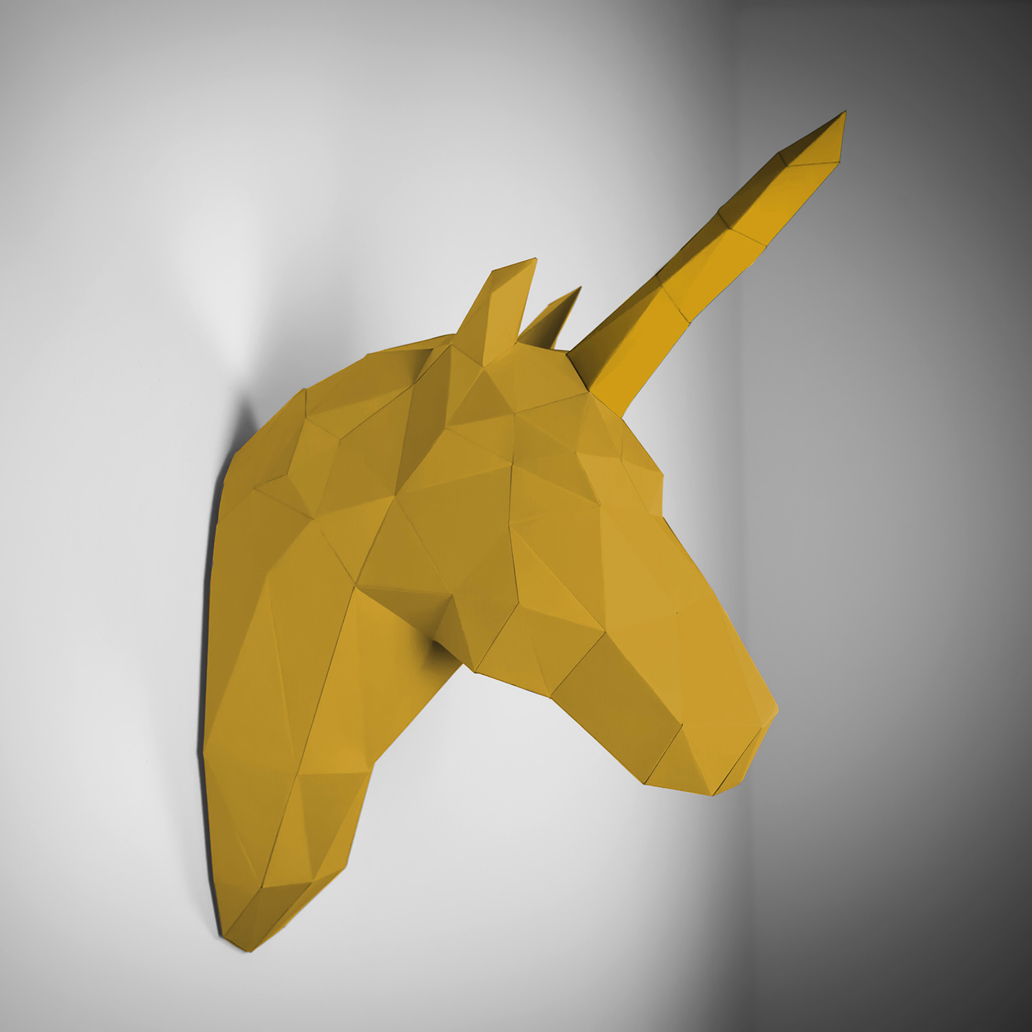 Paper Trophy Unicorn (orange + Blue) - Papertrophy - Touch Of Modern