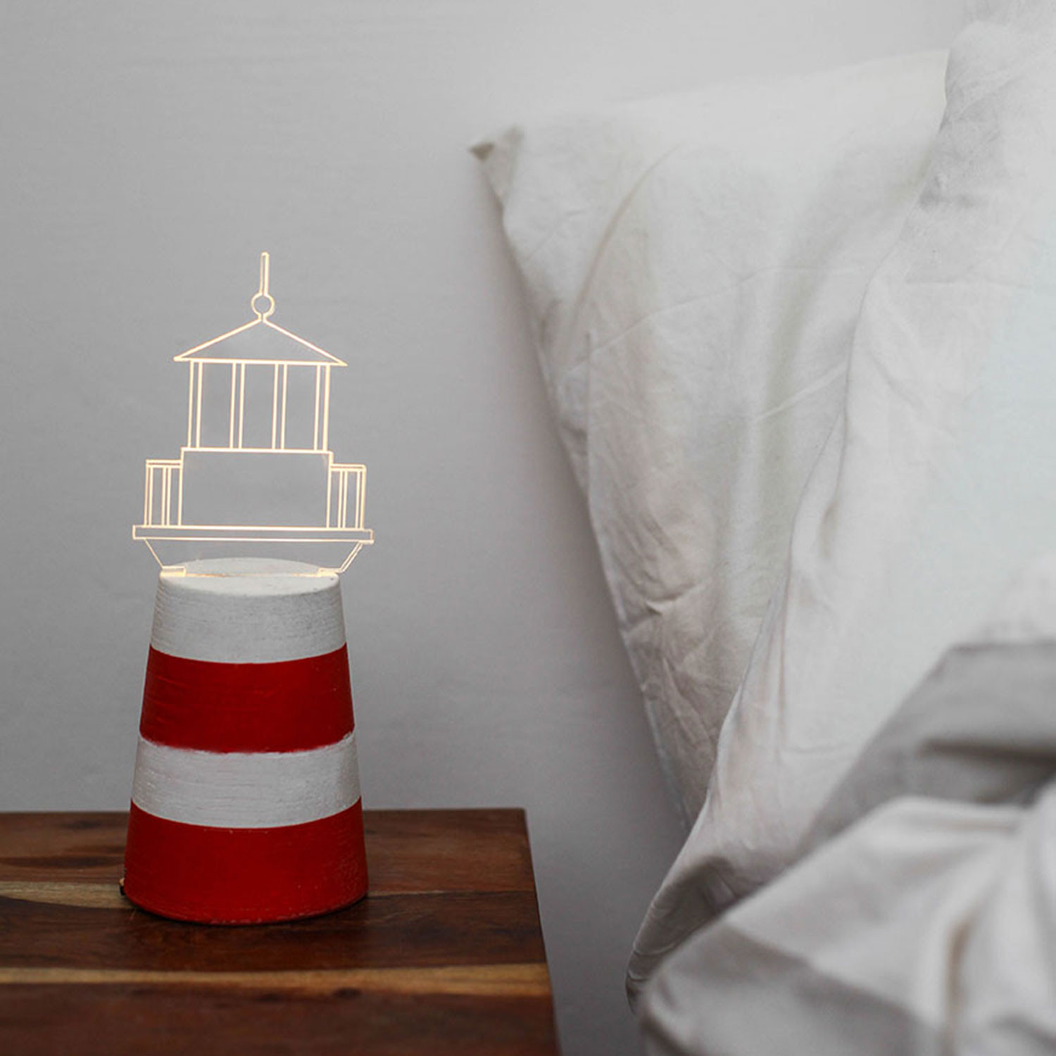Lighthouse Touch Lamp Lighthouse Lamp Grey Sturlesi Design Touch Of Modern