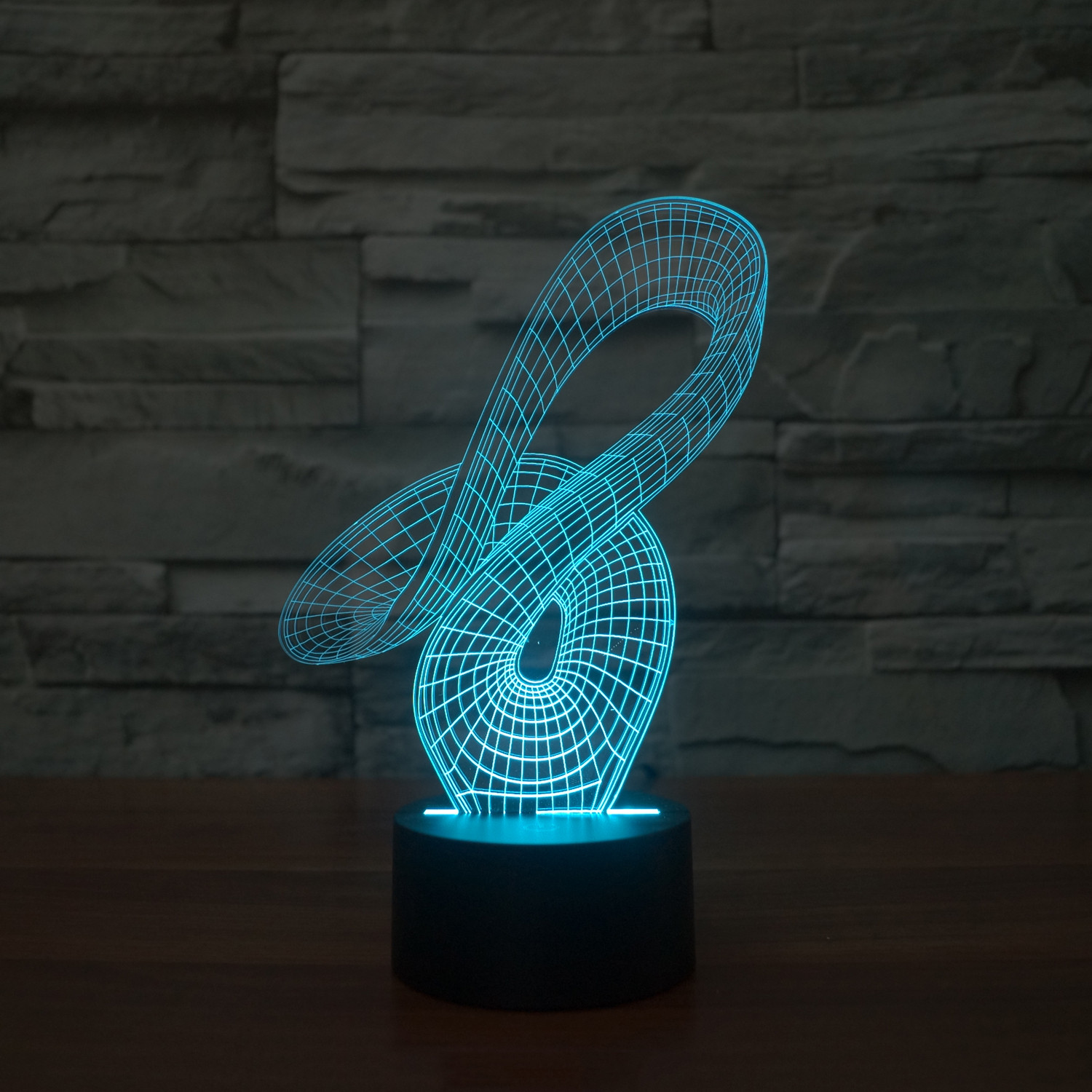Modern Lamps Led 3d Illusion Lamps Led Accent Lighting Touch Of Modern