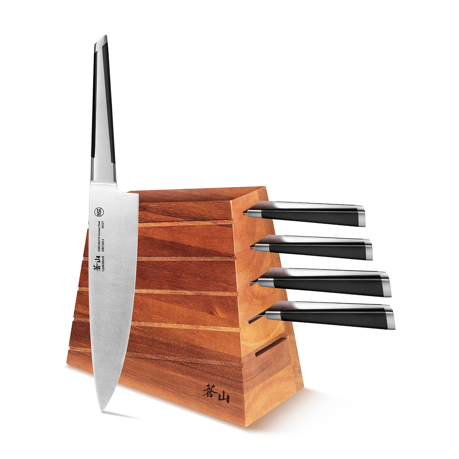 Cool Knife Block Sets X Series 6 Piece Knife Block Set Cangshan Touch Of Modern