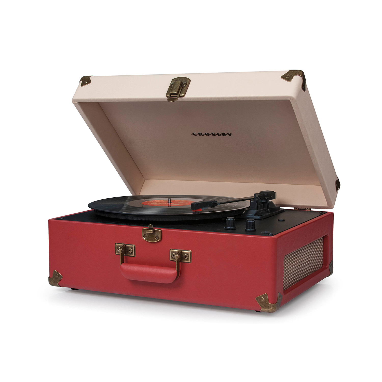 Crosley Radio Keepsake Usb Turntable Red Cream Crosley Radio Touch Of