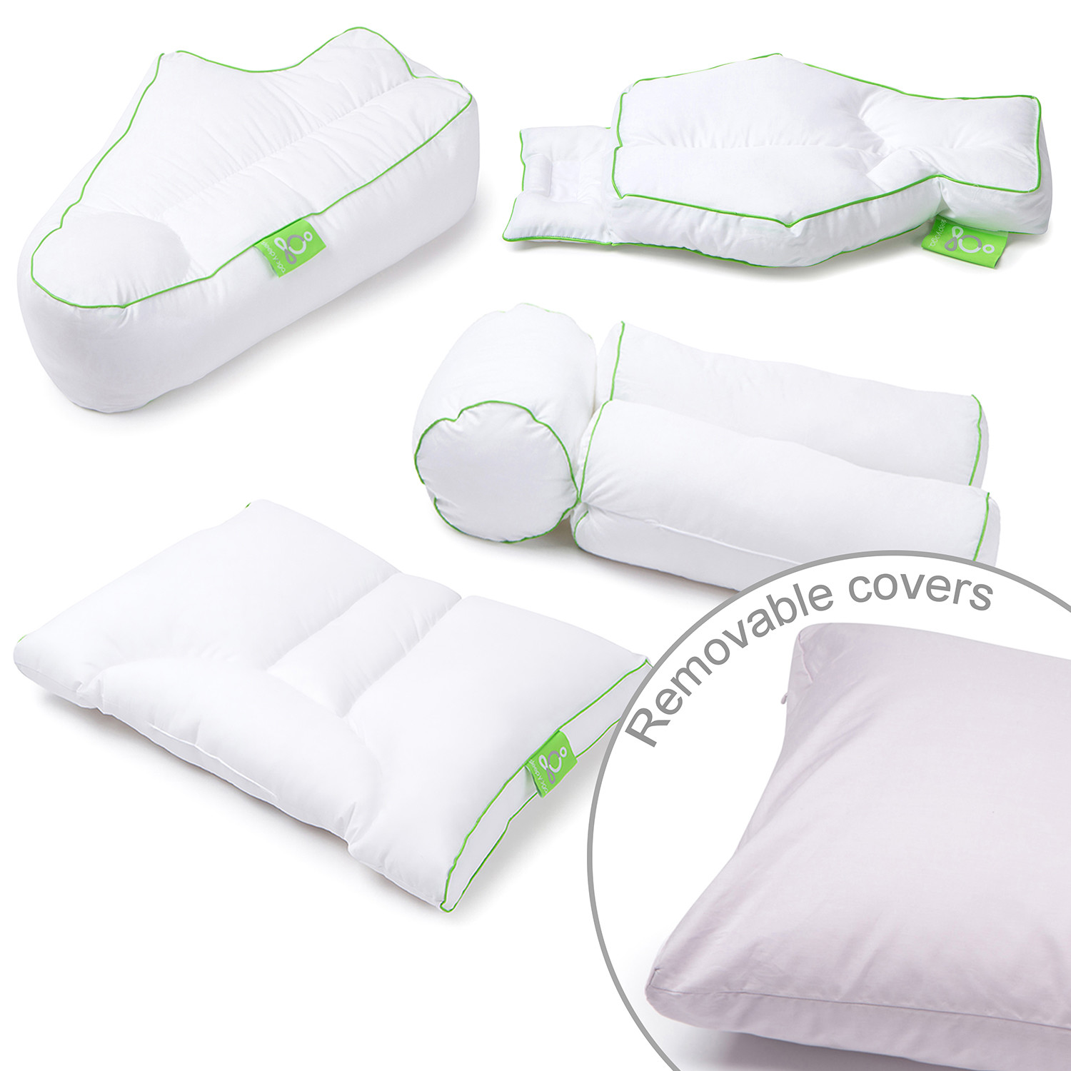 Complete Sleeper Pillow Sleep Yoga Posture Pillow Collection Set Of 4 43 Pillow