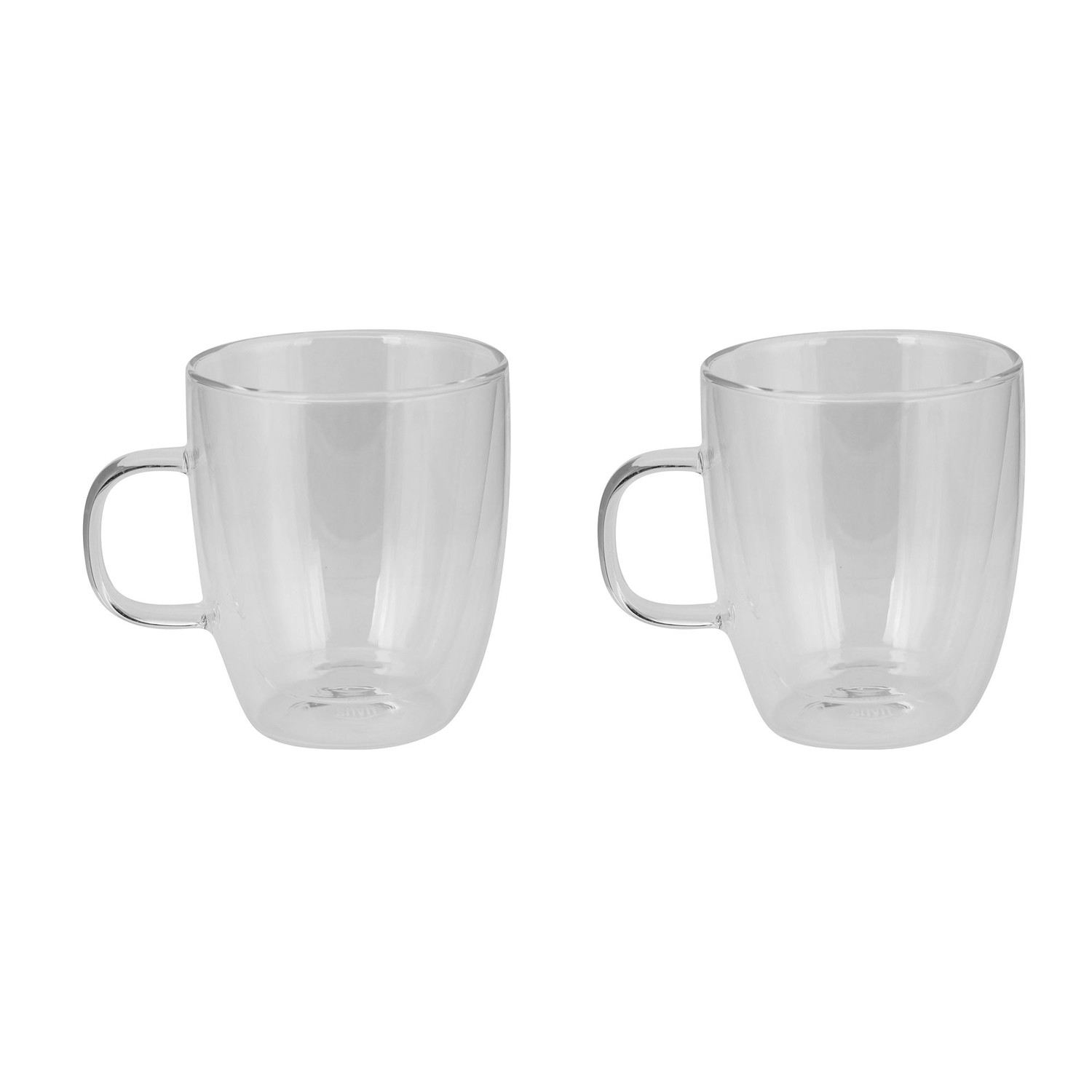 Large Coffee Mug Sets Large Glass Coffee Cup Set Of 2 Haus By Kalorik
