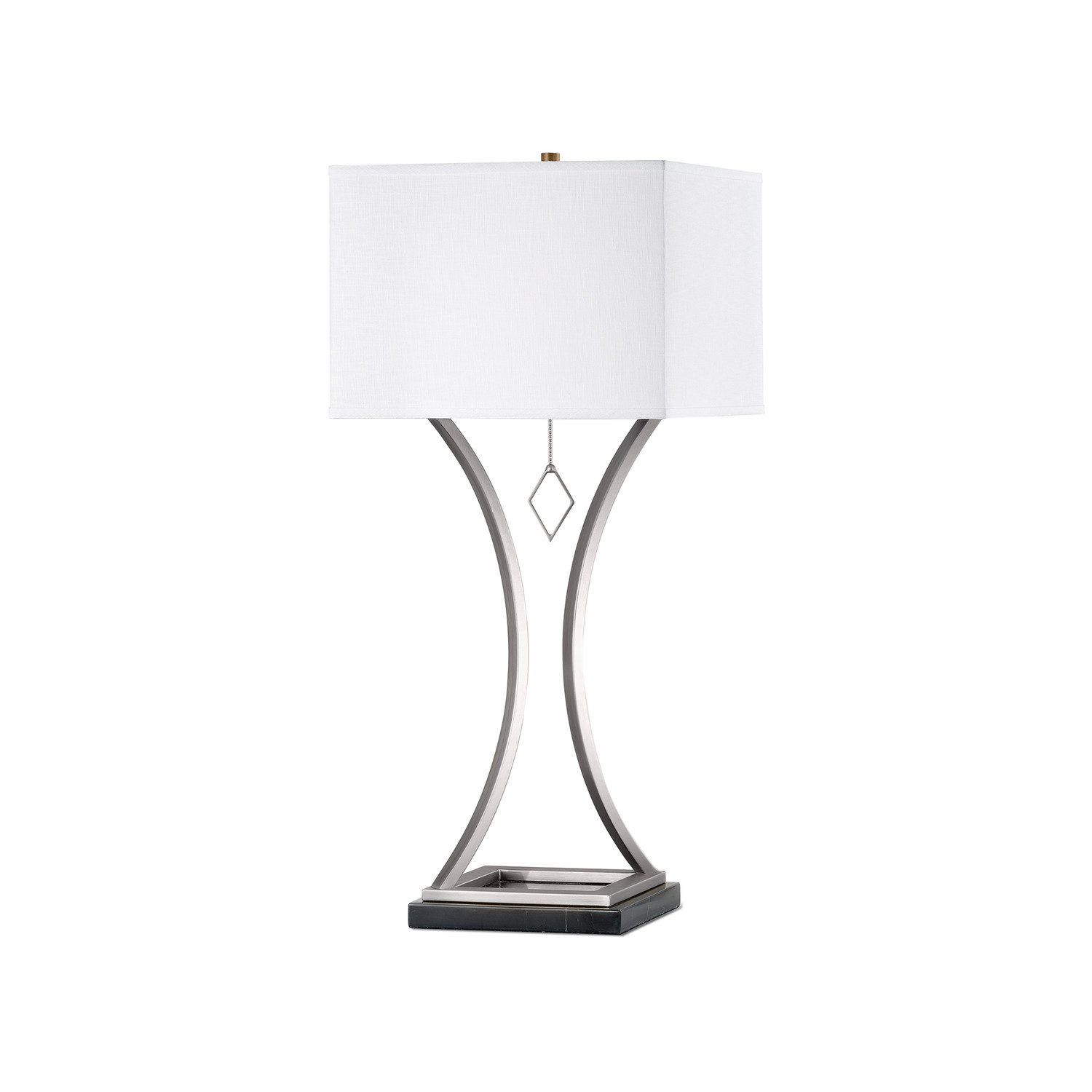 Jubilee Table Lamp // Antique Nickel