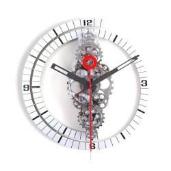 Small Crop Of Gear Wall Clock