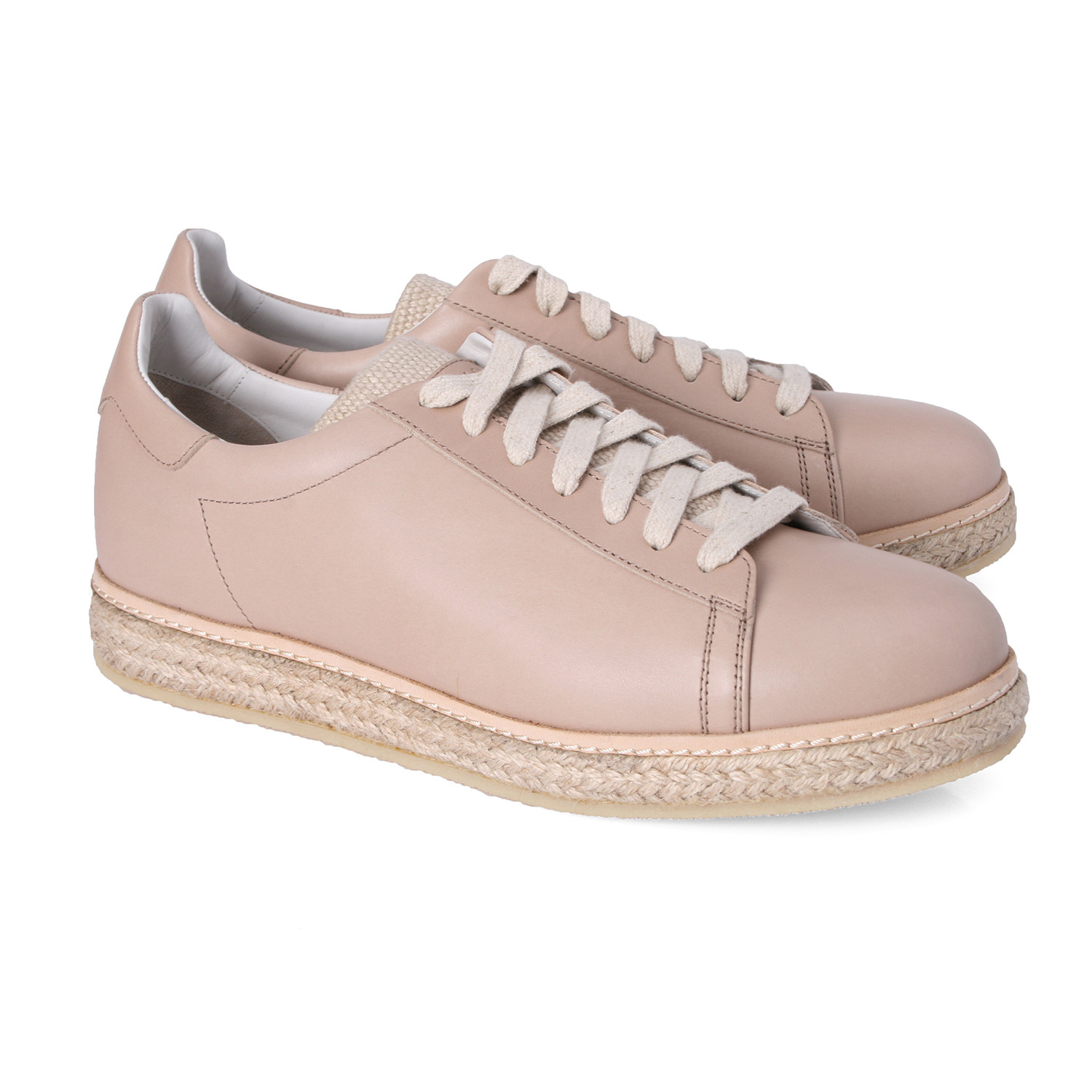 Francesco&#39 Francesco Woven Midsole Sneaker Light Pink Euro 39