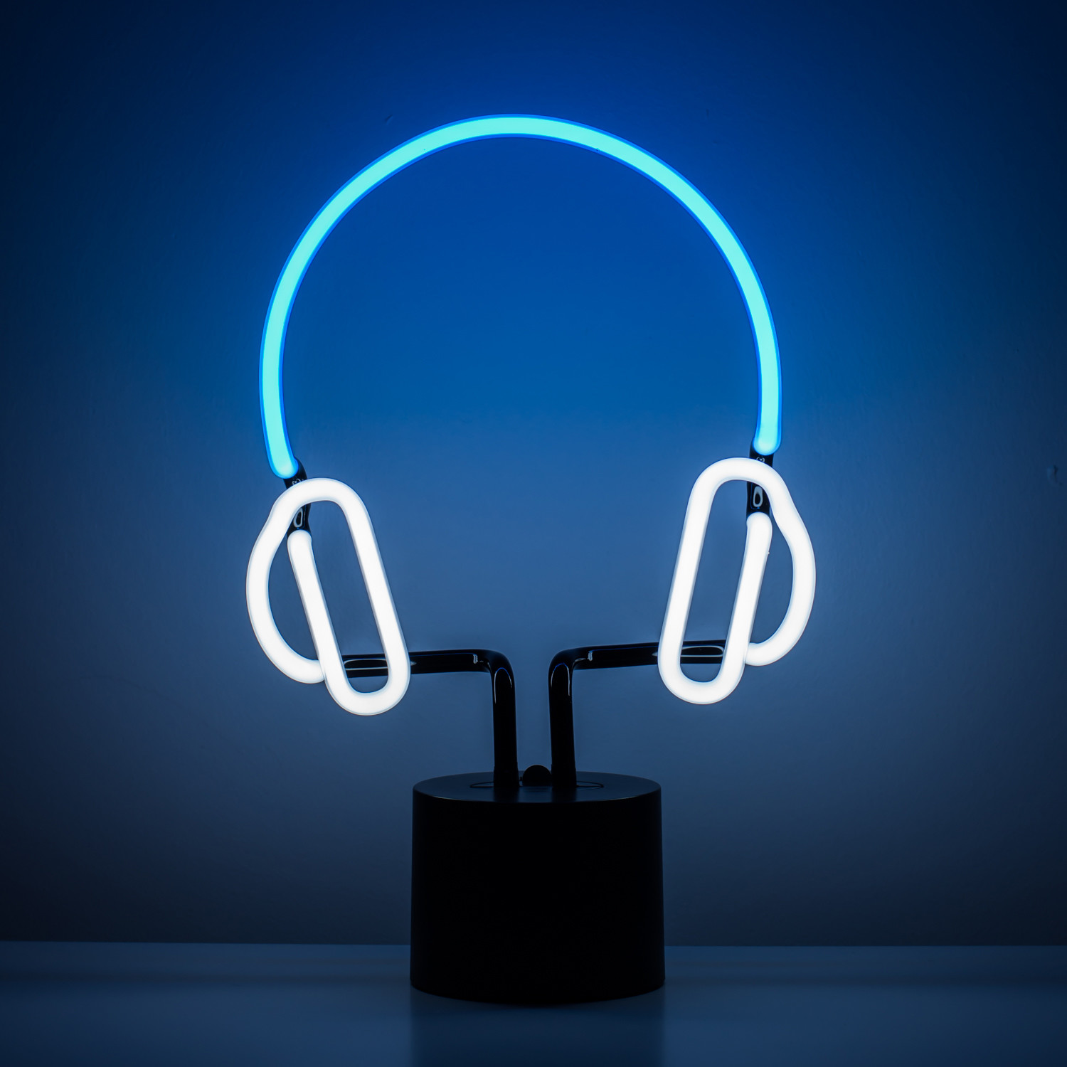Neon Lamp Headphone Neon Light Amped Co Touch Of Modern