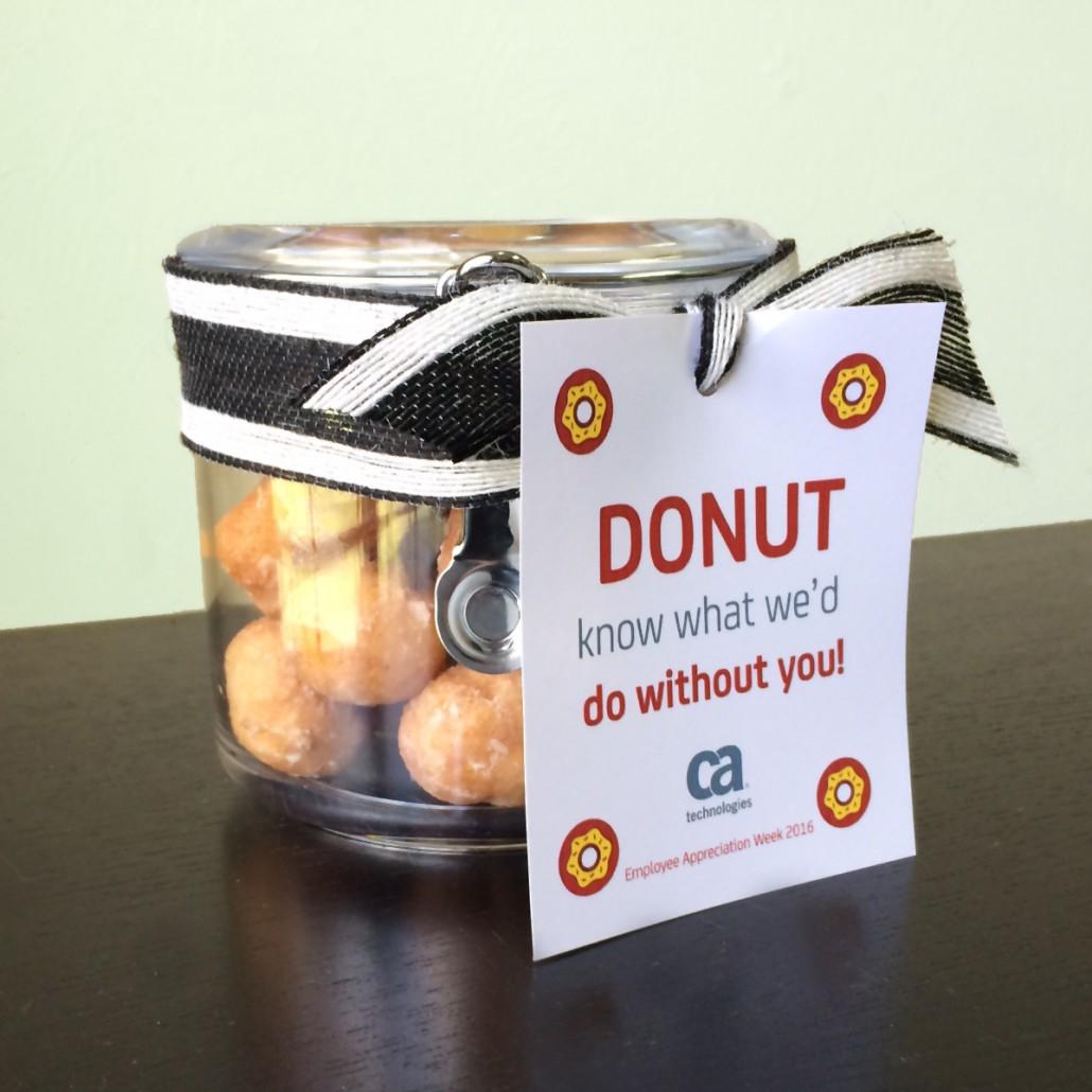 Employee Appreciation Gift Ideas Employee Gift Ideas To Show Your Appreciation Donuts How To 6 Easy