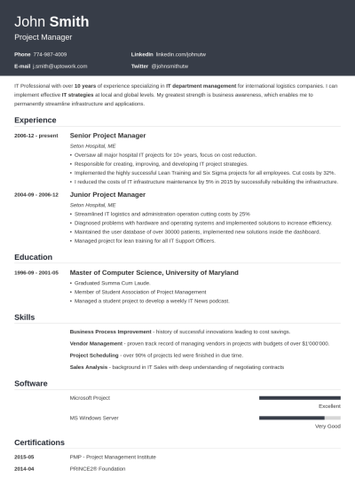 +20 Resume Templates [Download] Create Your Resume in 5 Minutes!