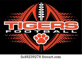 Free Art Print Of Tigers Football Tiger Eyes Football