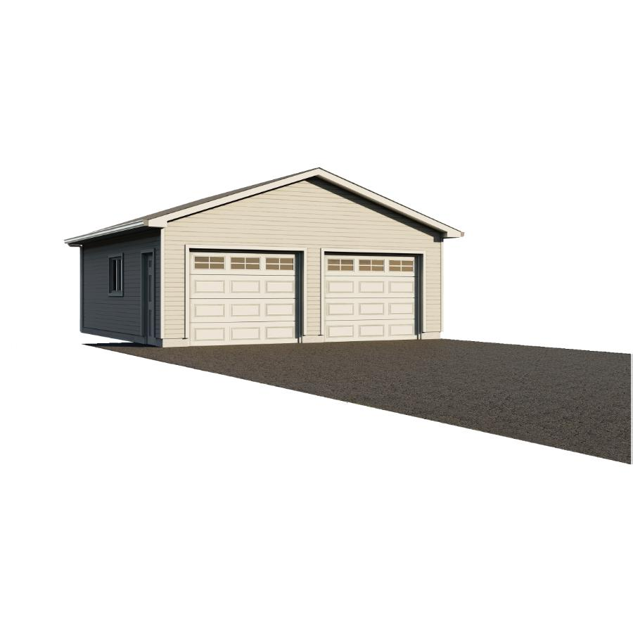Garage Préfabriqué Tarif 28 X 30 2 Door Garage Package With Complete Exterior Option